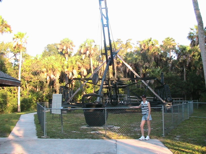 Dredge at Collier-Seminole State Park