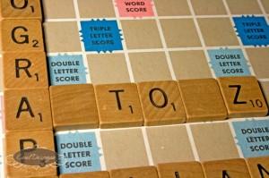 S - Scrabble