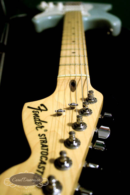 F - Fender Stratocaster Electric Guitar