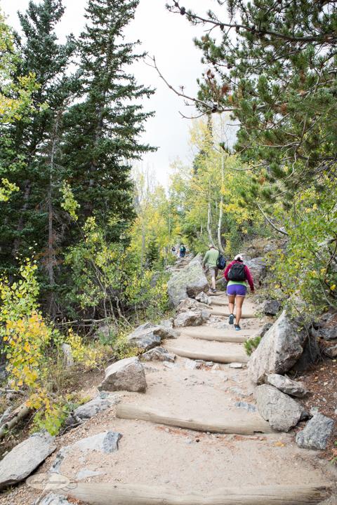 estes park, bear lake trailhead, lake haiyaha, dream lake, colorado, hiking, images, photography, carol dunnigan photography, rocky mountain national park, trails-6645