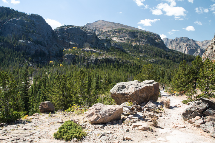 estes park, colorado, rocky mountain national park, carol dunnigan photography, images, photography, hiking, trails, glacier gorge trailhead, mills lake, alberta falls-19