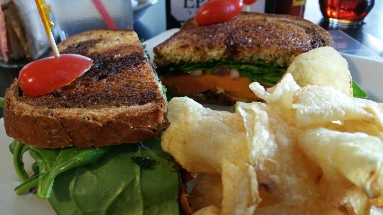 Sweet Potato Sandwich